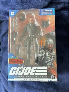 GI Joe Classified Series Major Bludd Exclusive Cobra Island MISB - IN HAND