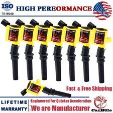 8 Pack DG508 Ignition Coil For Ford F150 Xlt 4.6/5.4/6.8L V8 2000 2001 2002-2004