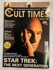 Cult Times The Best Of Cult Tv February 1998 Issue #29 Babylon 5 Jason Carter