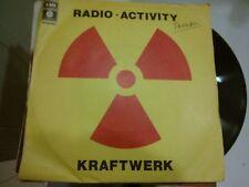 "7"" KRAFTWERK RADIOACTIVITY ANTENNA COVER EX VINILE EX++/N-MINT"
