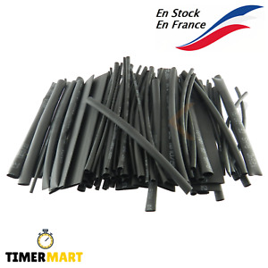 Gaine thermorétractable 2mm 4mm 5mm 8mm 10mm Heat shrink Tubing Tube TimerMart