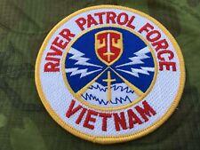 MACV RIVER PATROL FORCE VIETNAM PATCH