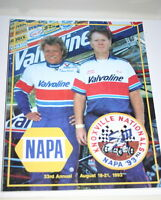 1993 33TH ANNUAL KNOXVILLE NATIONALS OFFICIAL PROGRAM KARL & STEVE KINSER