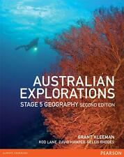 Australian Explorations Stage 5 Georgraphy 2nd Edition + CD