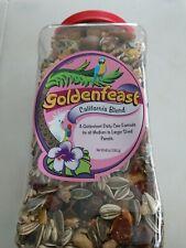 3 lb 7oz Jar 55 oz Goldenfeast California Blend Bird Food Medium & Large Parrots