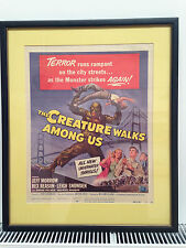 The Creature Walks Among Us Original 1956 US Window Card