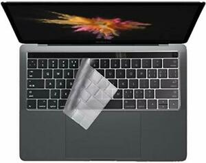 """Colel Thin Clear Keyboard Protector Cover Macbook Pro 13"""" 15"""" Model A1706 EU/US"""