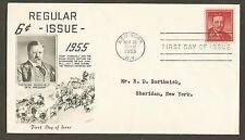 #1039a 6cTheodore Roosevelt - Fleetwood FDC