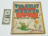 The Great Escape or The Sewer Story - by Peter Lippman - Vintage Rare Book 1973