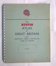 RARE 1st edition: The Austin Atlas of Great Britain - Original Vintage 1952