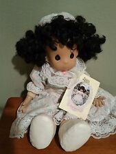 Precious Moments Doll Bethany African American Retired 1993 Original Owner