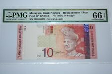 (PL) RM 10 ZD 6666556 PMG 66 EPQ ZETI NICE FANCY ALMOST SOLID NUMBER REPLACEMENT