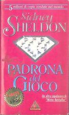 PADRONA DEL GIOCO - SIDNEY SHELDON - ED. MONDADORI - I MITI