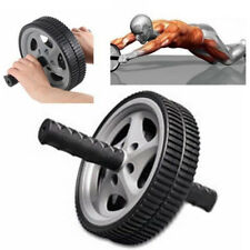 Dual ABS Wheel Abdominal Roller Workout Exercise Arm Waist Fitness Exerciser