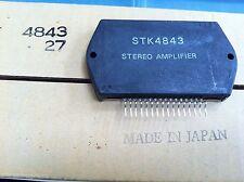 Stk4843 + Heat Sink Compound Audio Amp Out.+/-43V,2X30W By Sanyo