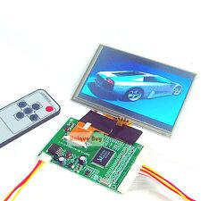 """5.0"""" TFT LCD Module  + 2AV / VGA Driving Board 800 x 480 Dots 40Pin"""