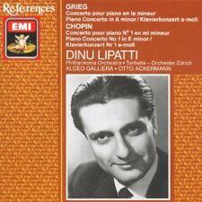 Grieg, Chopin: Piano Concertos - Concerti per piano / Dinu Lipatti   - CD