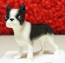 ➸ Hagen Renaker Dog Miniature Figurine Boston Terrier