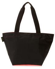 NWT Herve Chapelier Large 925N Shopper Tote Bag BLACK/Coral Melon Factory Sealed