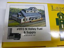 Branchline N laser Art Structures #893 Valley Fuel