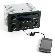 2000-05 Chevy Car Radio AM FM CD w Upgraded Aux MP3 iPod Input - RDS - 10324040