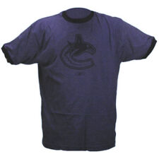 VANCOUVER CANUCKS - CCM 5141 NHL HOCKEY TEAM LOGO TONE RINGER T-SHIRT - MEDIUM
