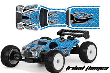 AMR RACING RC GRAPHICS SKIN DECAL KIT MUGEN BULLDOG PROLINE BODY MBX6T TFLAME U