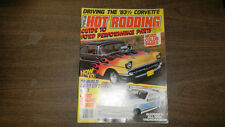 Popular Hot Rodding Magazine Guide To Ford Performance Parts March 19831107R