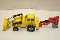 ORIGINAL DINKY Toys - Muir Hill 2WL - Loader - Trencher - Excavator - Yellow