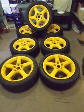 GENUINE HSV SPARE ALLOY WHEEL RIM 17X8 VT VX SS YELLOW HOLDEN COMMODORE VY VZ