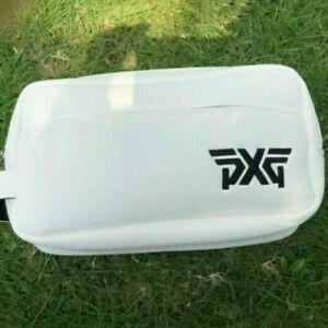 White/Black Outdoor PXG Golf Ball Pouch Bag Carry Case 30*15*10cm