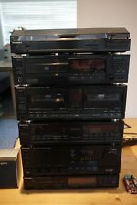 Technics Stack with SU-X977 Amplifier, Equaliser, Tuner, Turntable, Tape, CD