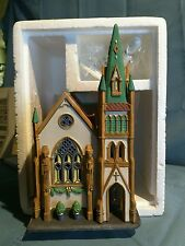 "Dept 56 ""ALL SAINTS CORNER CHURCH"" Christmas in the City Heritage Collection"