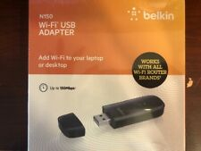 Belkin N150 Wireless USB Adapter with up to 150Mbps Link Rate
