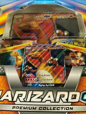 Charizard GX Premium Collection Box Inc, Promo, Code, Pins, Boosters New Sealed
