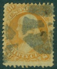 EDW1949SELL : USA 1861 Scott #71 Used. Nice perforations. Catalog $190.00.