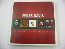 MILES DAVIS - ORIGINAL ALBUM SERIES - 5CD BOXSET NEW SEALED 2012