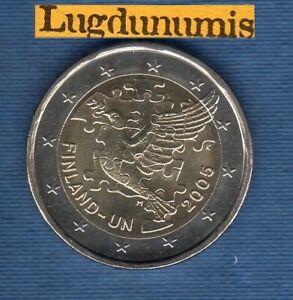 2 euro Commémo 2005 Finlande Adhésion Nations Unies SUP SPL