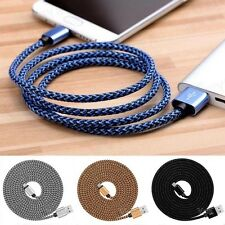 USB C 3.1 Type-C Fast Data Sync Nylon Braided Charger Charging Cable 2M-3M 10FT