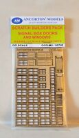 Ancorton Models 95740 Signal Box Doors Windows Scratch Build Pack 00 Model Rail