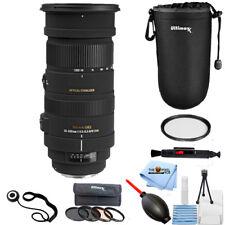Sigma 50-500mm f/4.5-6.3 APO DG OS HSM Lens for Canon EOS PRO BUNDLE NEW