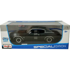 Maisto 1971 Chevrolet Chevelle SS 454 Sport Coupe 1:18 Diecast Model Matt Black