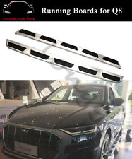 Stainless Steel Running Boards fits for Audi Q8 2019 2020 Side Step Nerf Bars
