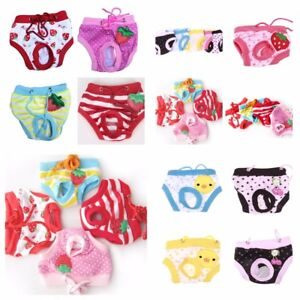 Cute Dog Puppy Pet Nappies Diapers Knickers Pants, Reusable - FREE POST!