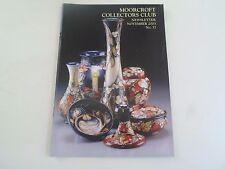 MOORCROFT Collectors Club Newsletter November 2003 No 37+Illustrated        §3