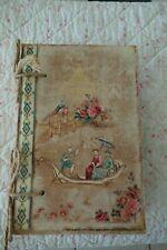 Shabby Dose Kiste Box Altes Buch Les Roses Schleifchen Holz 31 x 21 cm NEU N.696