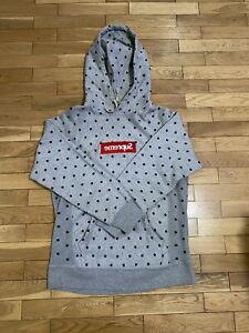 Supreme X CDG Reverse Box Logo Hoodie Grey M