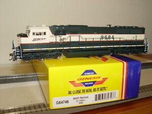 ATHEARN GENESIS G64746 Diesellok BNSF Railway SD-70MAC 9684