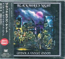 Blackmore's Night Under a Violet Moon Japan CD w/obi 1st pr.slipcase PCCY-01377