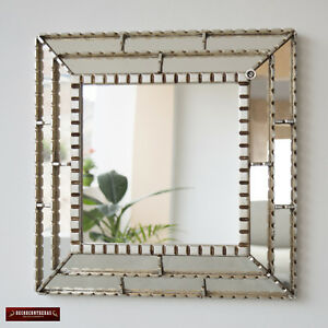 "Decorative Accent wall Mirror 18.1"", Bathroom Mirror for wall decor, Peru Mirror"